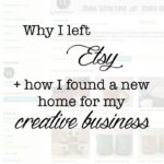 Why I Left Etsy: Hosting Alternatives