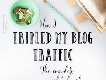Tripled blog traffic | marketyourcreativity.com